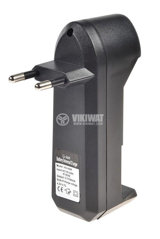 Зарядно устройство HD-0688 за акумулаторни батерии MR18650 - 2