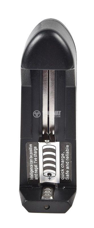 Зарядно устройство HD-0688 за акумулаторни батерии MR18650, 3.7V, 500mA  - 3