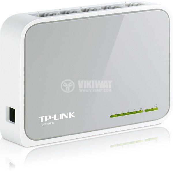 Desktop switch, TP-LINK, TL-SF1005D, 200 Mbps - 1