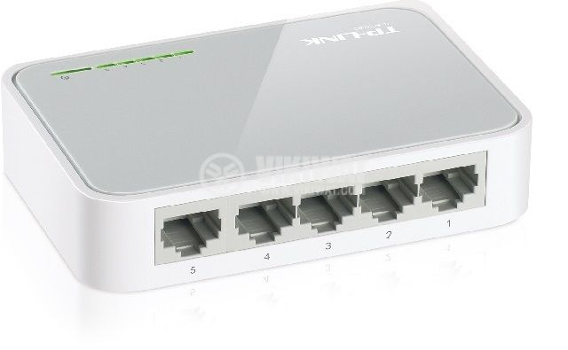 Desktop switch, TP-LINK, TL-SF1005D, 200 Mbps - 2