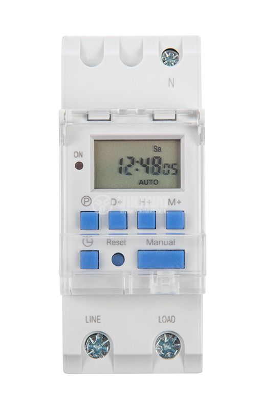 Timer, weekly, programmable, MT15, 220-240VAC, 30A - 1