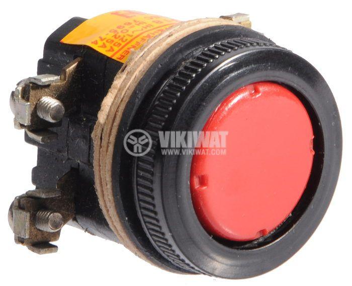 Push button, BT318, 380V, 2NC - 2