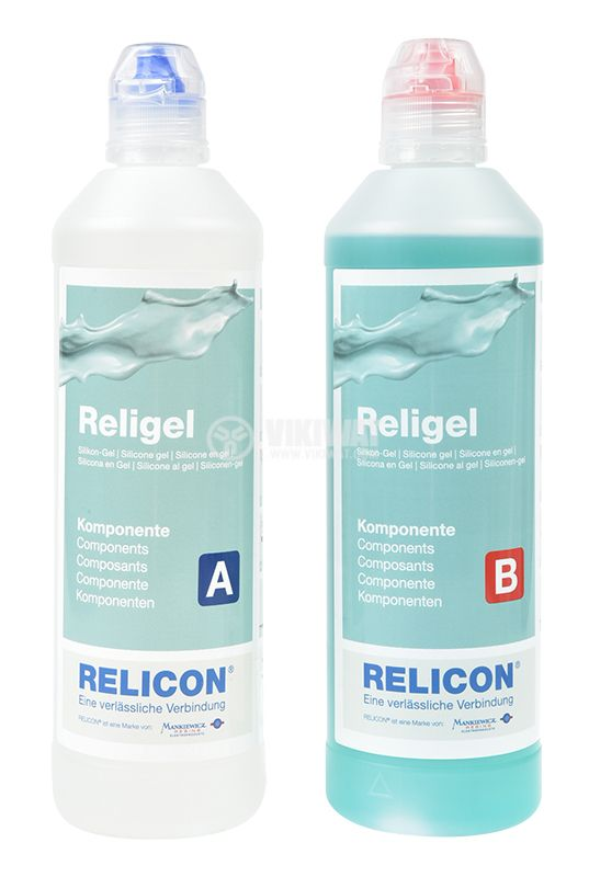Two-component silicone gel Religel, 1000ml - 1