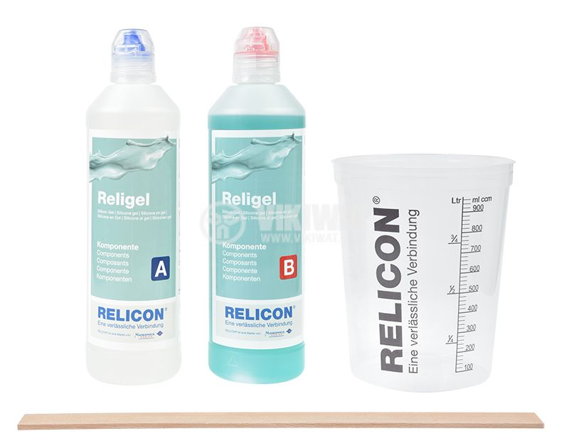 Two-component silicone gel Religel, 1000ml - 2