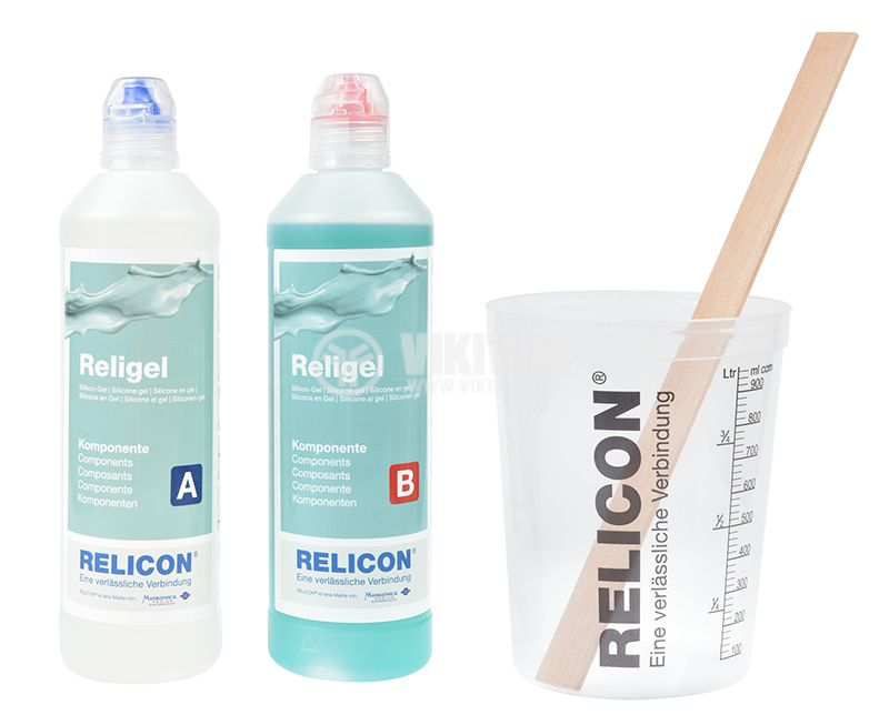 Two-component silicone gel Religel, 1000ml - 3