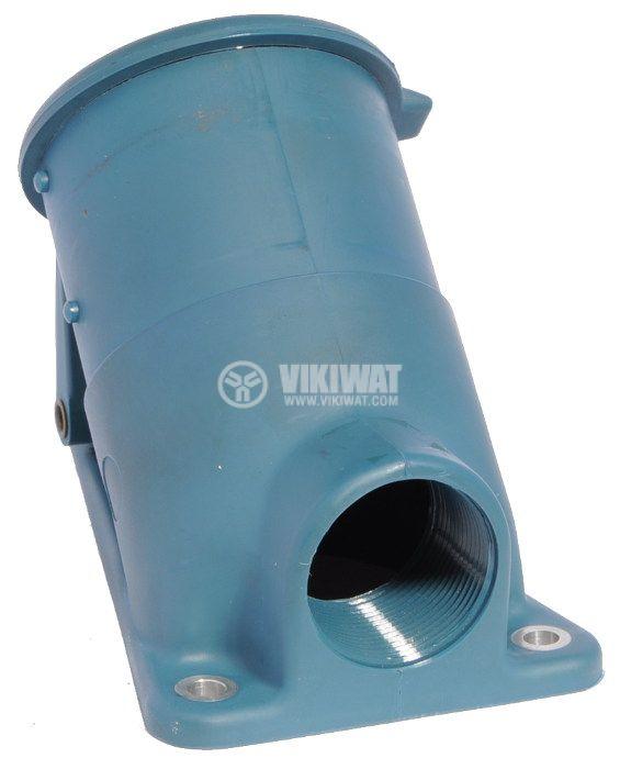 Индустриален съединител, комплект пластмасово шуко и метален щепсел, 380V/AC - 2