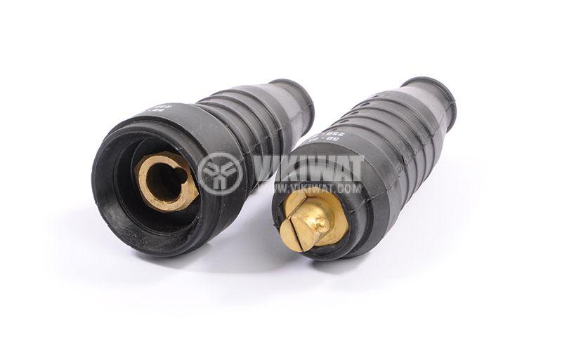 Industrial socket, 400А, 50-95mm2 - 2