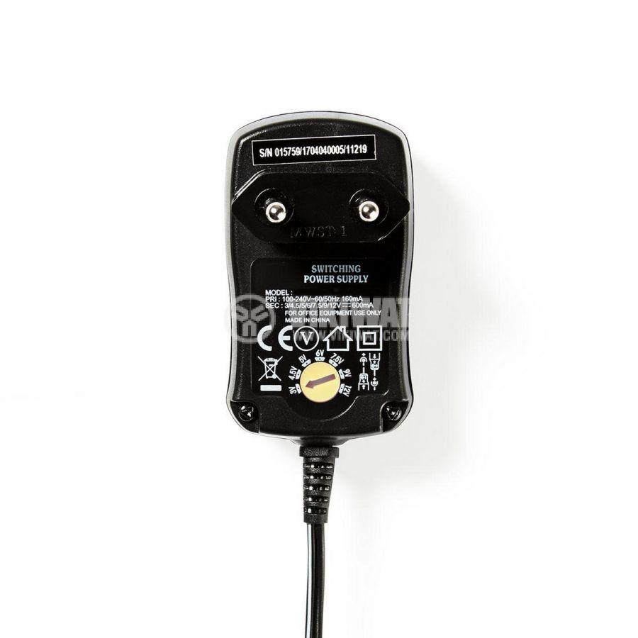 Адаптер 3-12VDC 0.6A 100-240V - 3