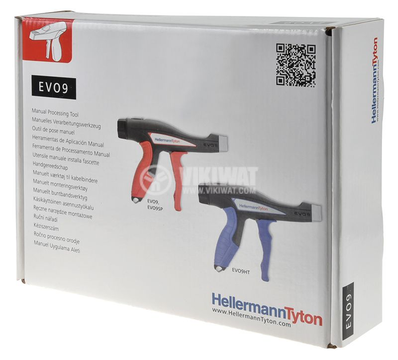 Tension gun EVO9 for tightening cable ties - 6