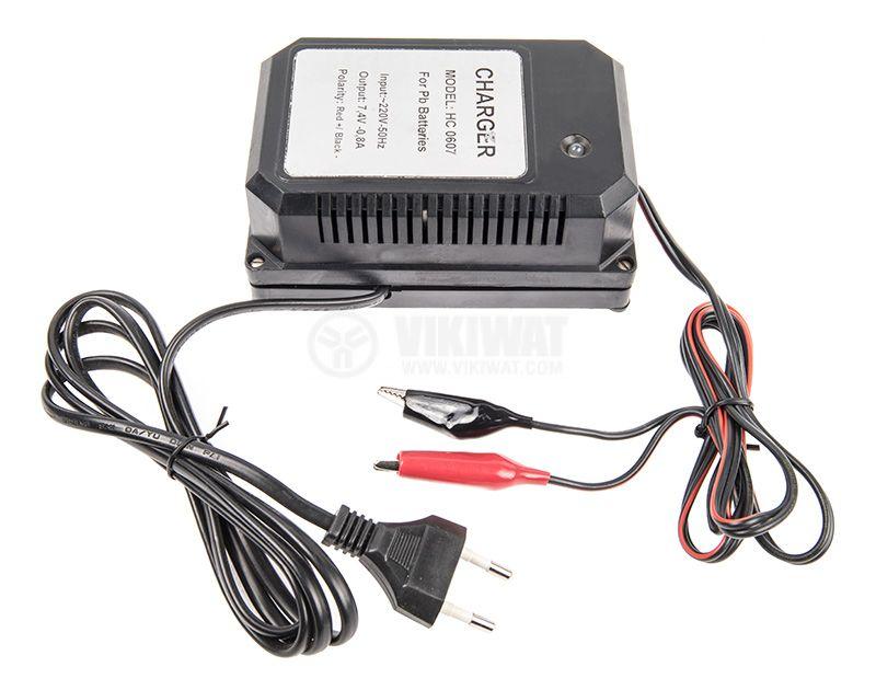 Зарядно устройство за акумулатори HC0607 - 7.4V, 0.8A - 1