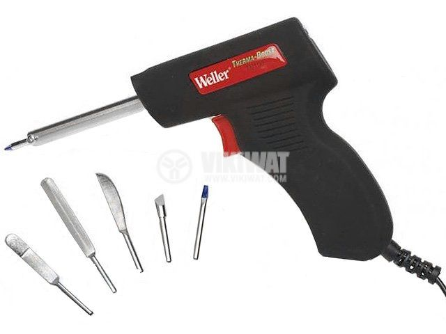 Soldering iron, 30-130W, 6 nozzles, WELLER, TB100EU