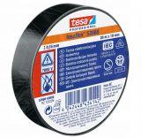 PVC изолационна лента изолирбанд черна 20m x 19mm TESA 53988
