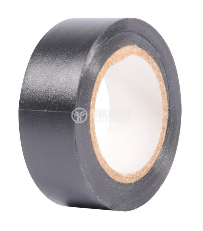 PVC Insulating tape Lamar, 10mx19mm, black - 1