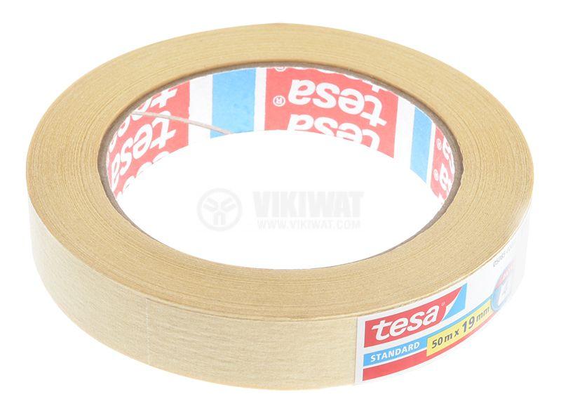 Хартиено тиксо,  50m x 19mm, tesa 05085 - 3