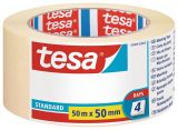 Masking tape for home renovation tesa 5089, 50mm width, roll 50m