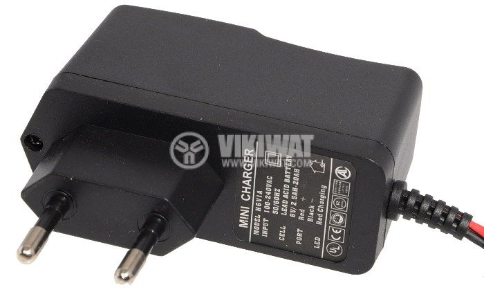 Зарядно устройство за акумулатори H6V1A, 6V, 1A - 3