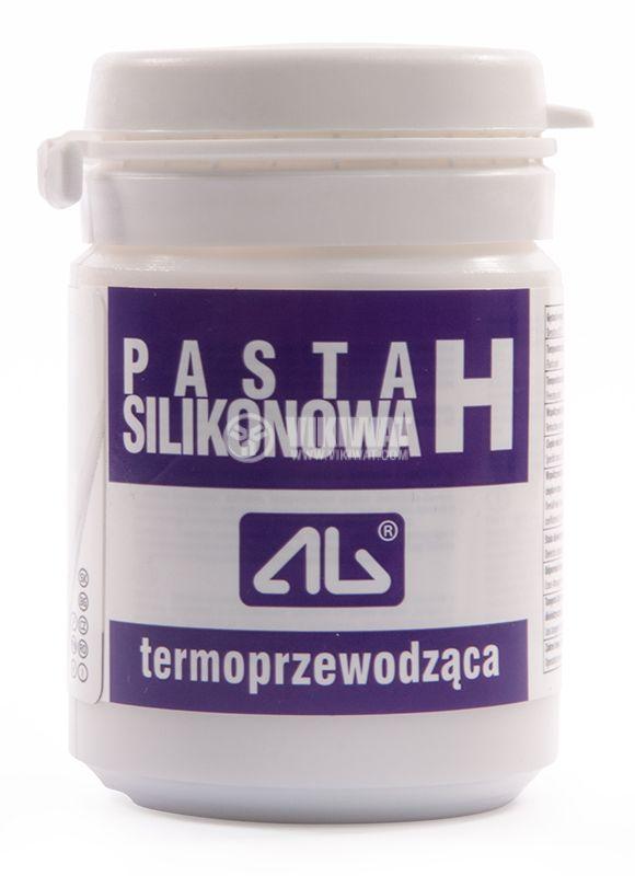 Silicone thermosetting paste 100g, white