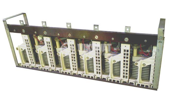 Тиристорен блок от 6бр.хT9-250, 6х250A, 1000V, 300mA, с радиатори