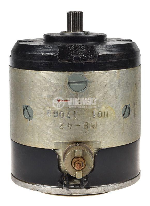 Electric DC motor MB-42 27 VDC, 175W, 3200 rpm - 2