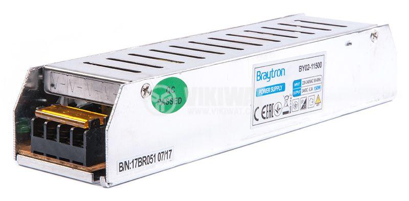 LED захранване 24VDC, 6.3A - 2