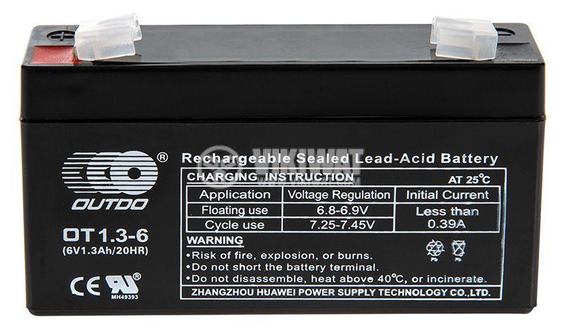 Aкумулатор OT1.3-6 OUTDO - 1