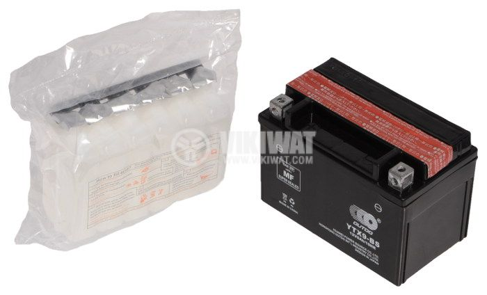 Акумулатор 12V 8Ah YTX9-BS с течност - 2