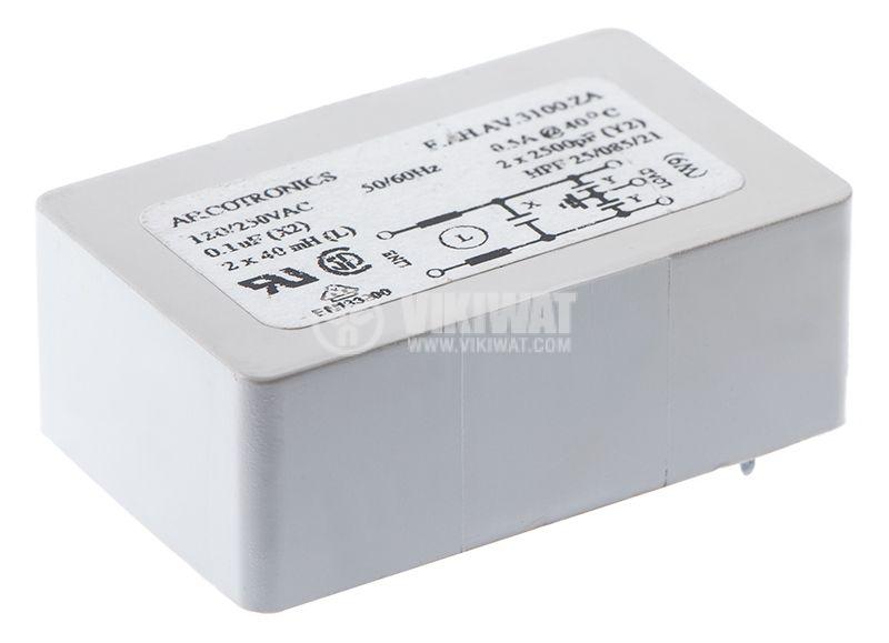 Filter capacitor 0.1uF - 2