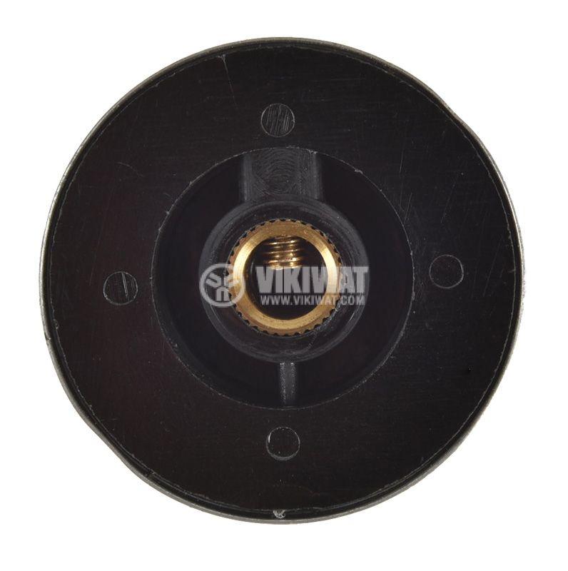 Копче за потенциометър ф36.8х15.6mm с фланец и брояч - 4