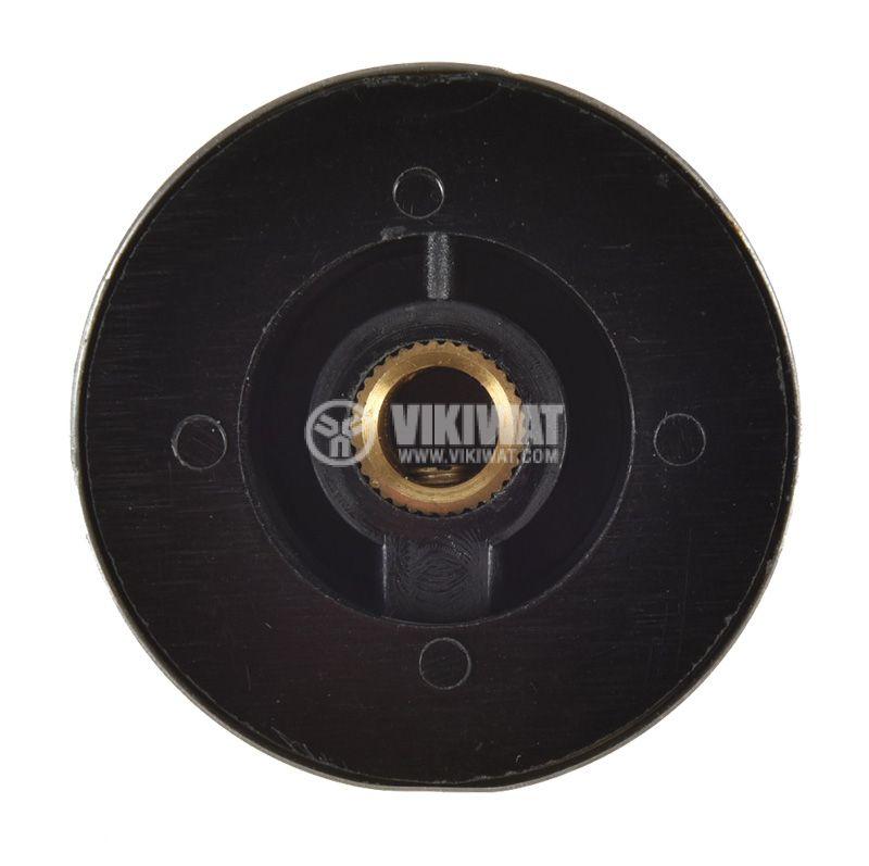 Копче за радиален потенциометър ф36.8х15.6mm с фланец и индикатор - 4