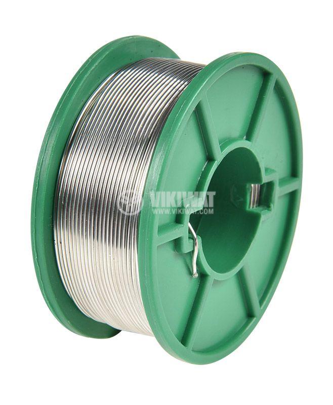Solder wire, Sn99/Cu1, Ф1 mm, 0.5 kg, Lead-free - 2
