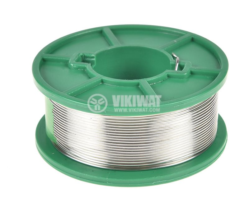 Solder wire, Sn99/Cu1, Ф1 mm, 0.5 kg, Lead-free - 1
