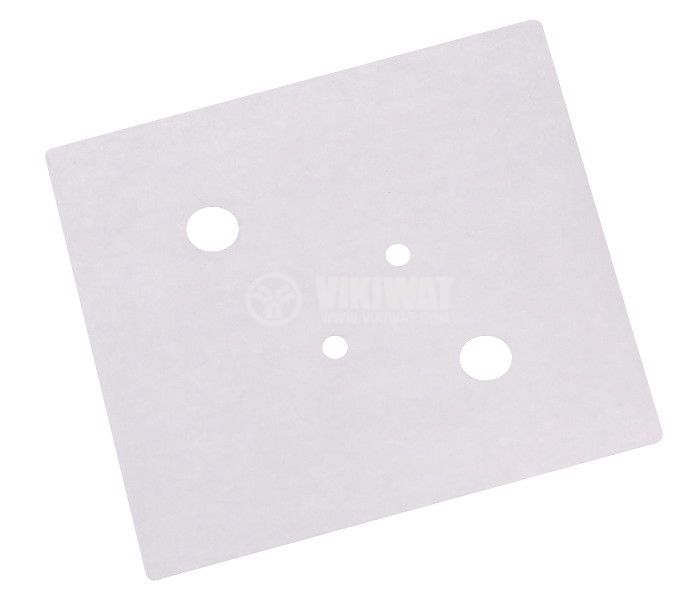 Thermally conductive pad, mica, TO-3, 0.2mm