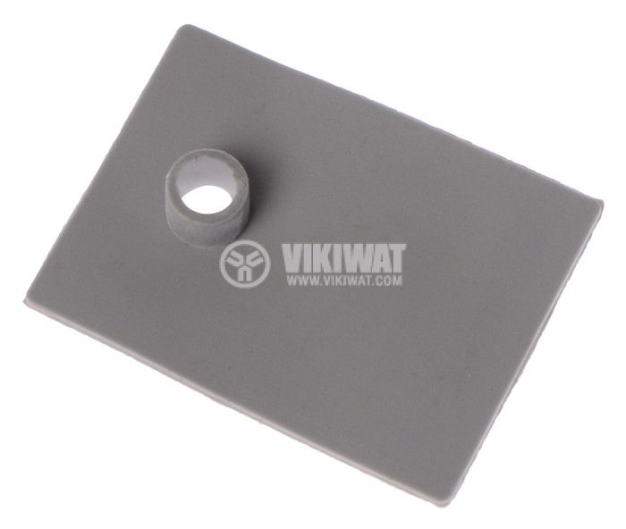 Thermally conductive pad, silicon, TO-220, 0.7mm