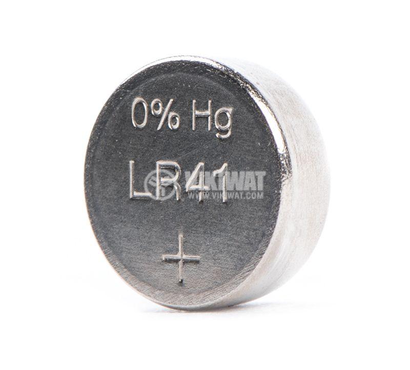 Плоска батерия LR41, 1.5V, алкална - 2