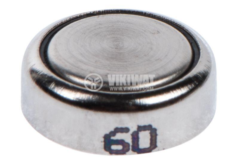 Плоска батерия GP 377, 1.55V, 27mAh, сребърна - 3
