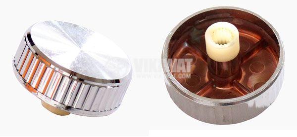Копче за потенциометър Ф34х12 mm без индикатор