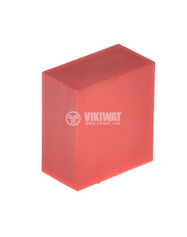 Копче, изостат, правоъгълно, 9.9x11x5.5mm - 2