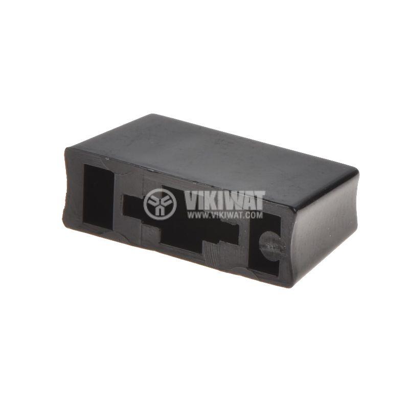 Копче за потенциометър, 10х6х18mm, черно - 2