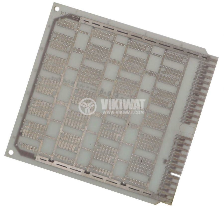Universal PCB, single sided, 140x150mm, 2.54mm