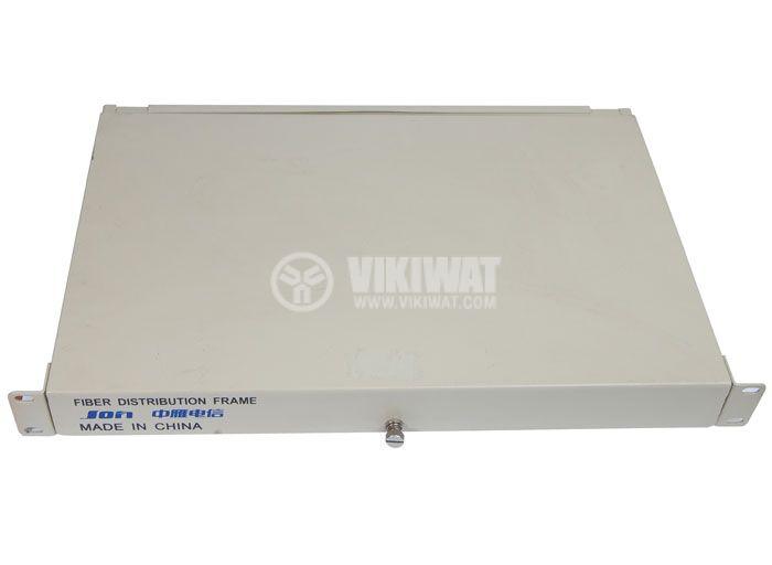 Кутия за фиброоптични кабели, метална 19 инча - 1