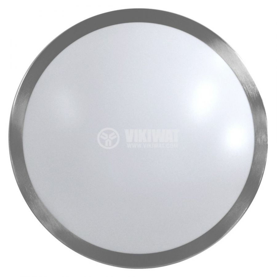 LED ceiling fixture VILLA, 15W, round, 220VAC, 1150lm,  6400K, cool white, metal frame, BH20-0428  - 3