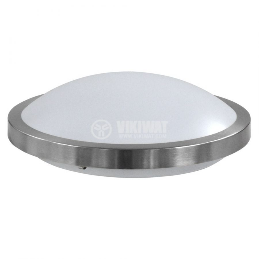 LED ceiling fixture VILLA, 15W, round, 220VAC, 1150lm,  6400K, cool white, metal frame, BH20-0428  - 1