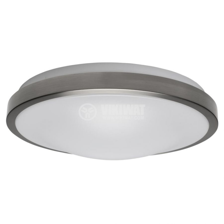 LED ceiling fixture VILLA, 15W, round, 220VAC, 1150lm,  6400K, cool white, metal trim, BH20-0428  - 4