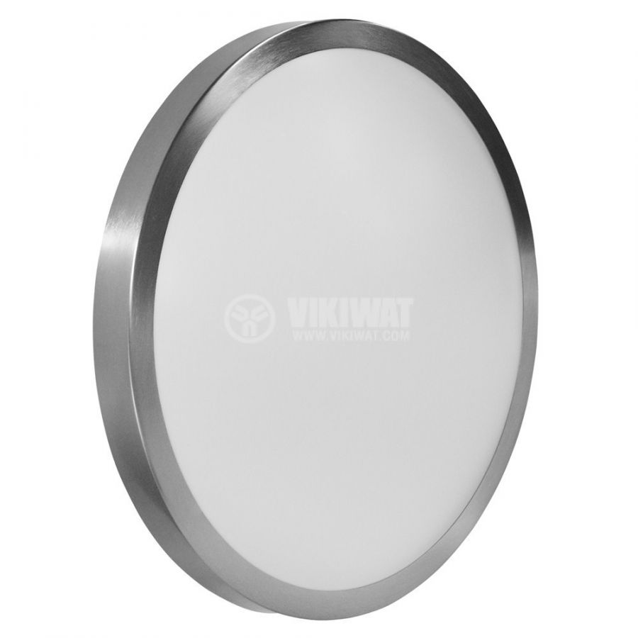 LED ceiling fixture VILLA, 15W, round, 220VAC, 1150lm,  6400K, cool white, metal trim, BH20-0428  - 5