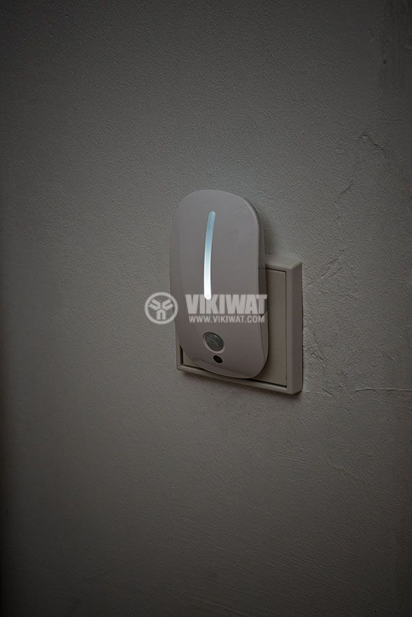 LED нощна лампа с PIR сензор, 25lm - 2