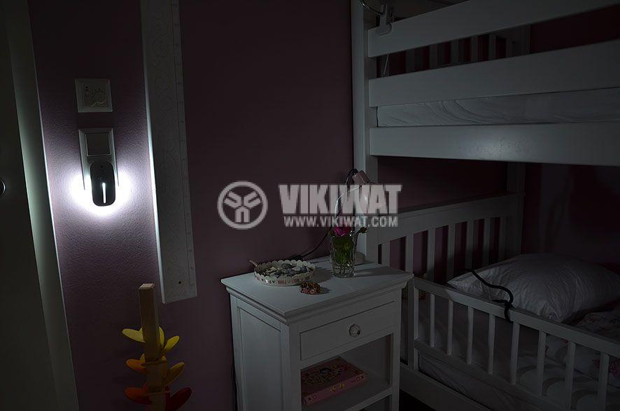 LED нощна лампа с PIR сензор, 25lm - 3