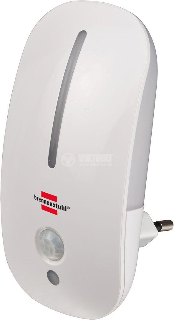 LED нощна лампа с PIR сензор, 25lm - 1