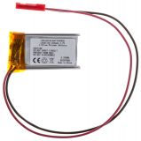 Rechargeable Battery LP601730 3.7V, 250mAh, LiPo