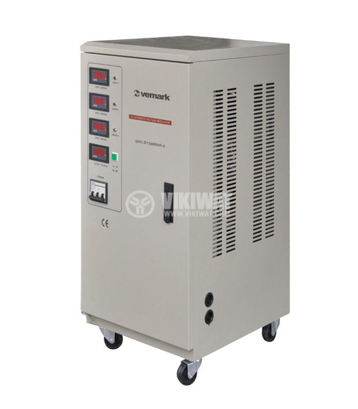 Стабилизатор на напрежение SVC-D15000VA-3 15000VA 380V