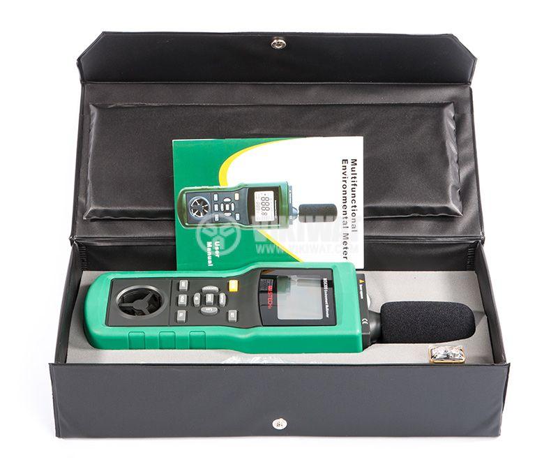 MASTECH MS6300 5 в 1 Луксметър, Термометър, Влагомер, Шумомер - 5
